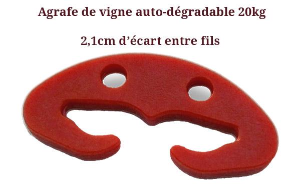Agrafe-pour-vigne-biodegradable grand modele,Agrafes de vignes auto-dégradable grand modèle